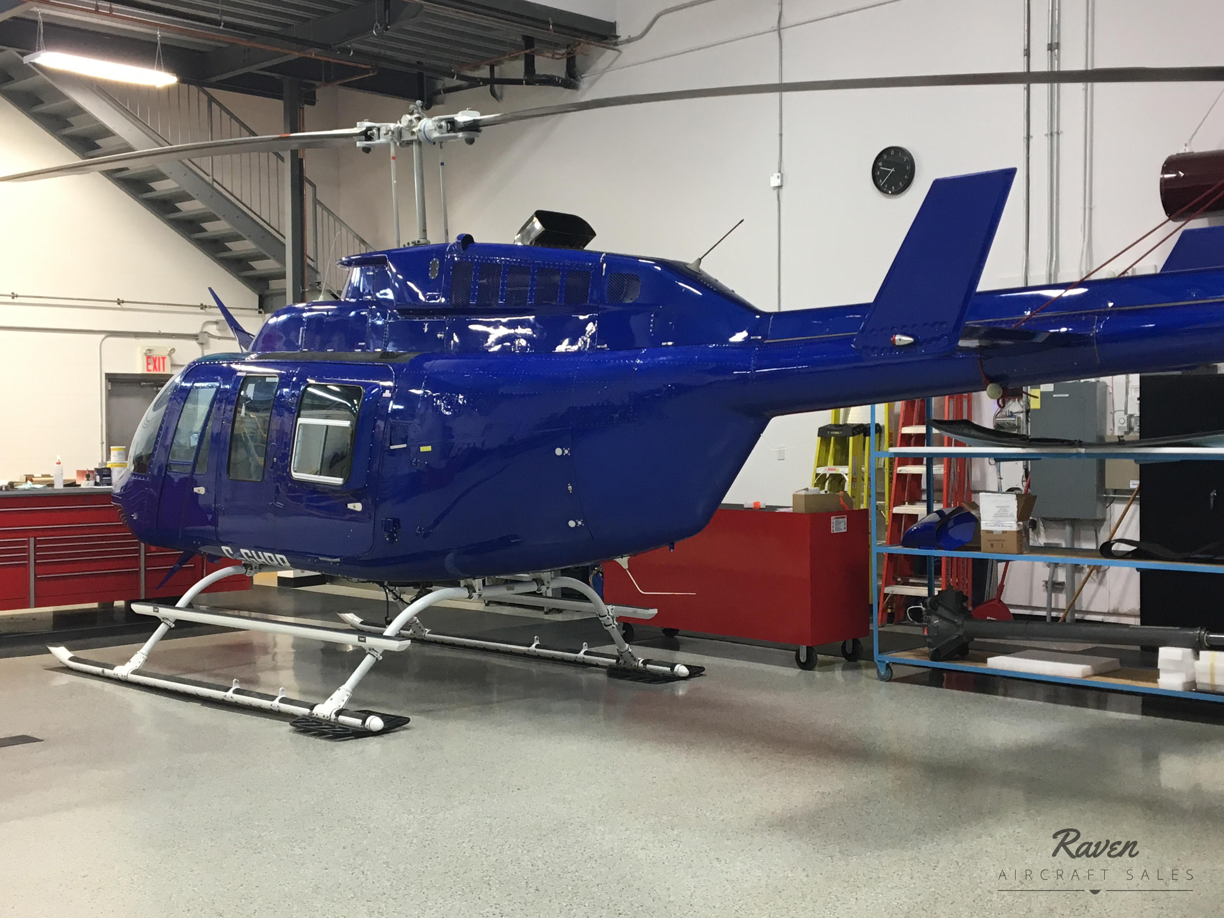 Bell 206L4 Rear port Exterior
