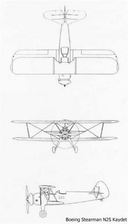 Boeing_Stearman_N2S_Kaydet_drawings